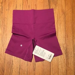 Lululemon sculpt short sz 4